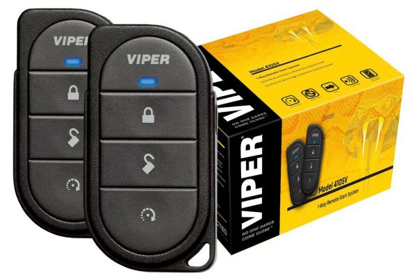 Viper 1-Way 4-Button Remote Start System - 4105V