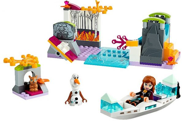 LEGO Disney Frozen II Anna's Canoe Expedition - 41165