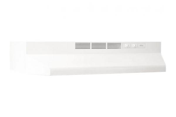 "Broan Economy 41000 24"" Range Wall Hood White - 412401"