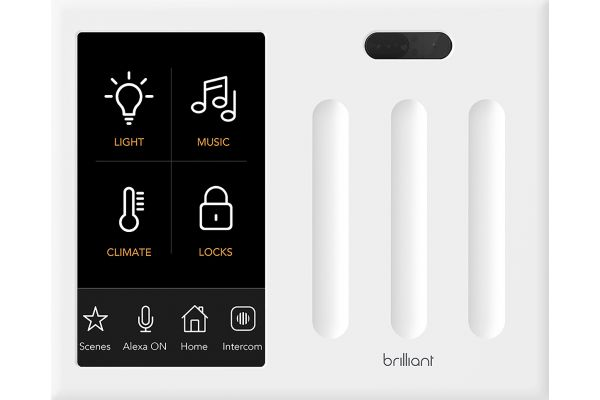 Brilliant Smart Home Control (3-Switch) - BHA120US-WH3