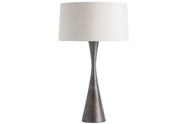 Large image of Arteriors Narsi Antiqued Aluminum Table Lamp - 42017-928