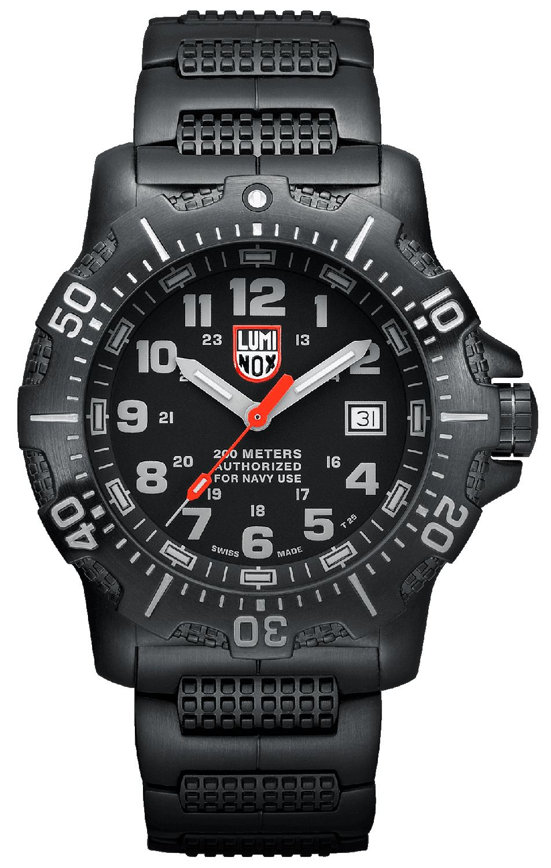 Luminox Anu Black Stainless Steel Mens Watch 4222