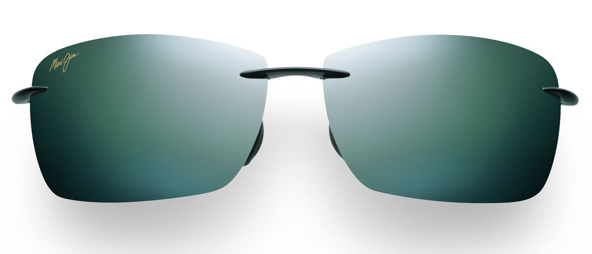 a1aed86f64fea Maui Jim Lighthouse Gloss Black Mens Sunglasses - 423-02
