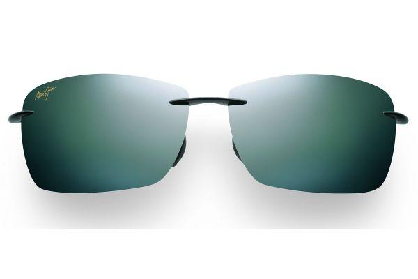 Maui Jim Lighthouse Gloss Black Mens Sunglasses - 423-02