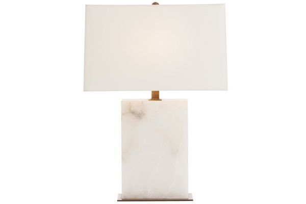 Arteriors Carson Snow Marble Table Lamp - 42328-798