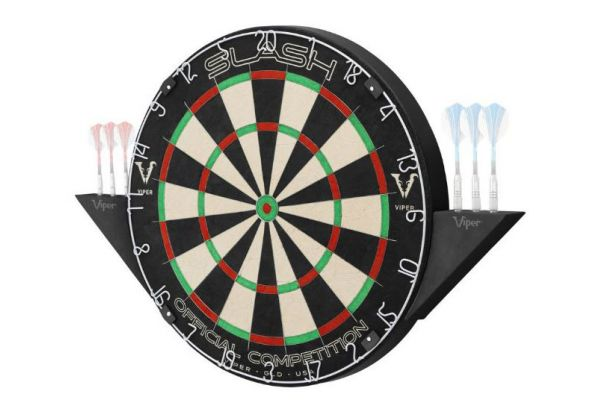 Large image of Viper By GLD Products Slash Sisal Dartboard - 42-6015
