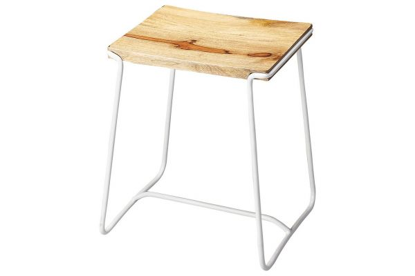 Large image of Butler Specialty Company Parrish White Counter Stool - 4272288