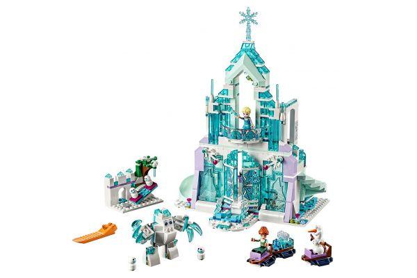 Large image of LEGO Disney Frozen II Elsa's Magical Ice Palace - 43172