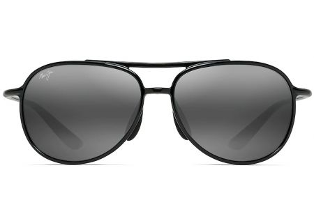 d11598e9f3 Maui Jim Neutral Grey Alelele Bridge Polarized Aviator Sunglasses - 438-02