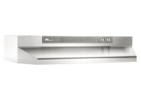 "Broan 42"" Stainless Steel Under Cabinet Range Wall Hood - 464204"