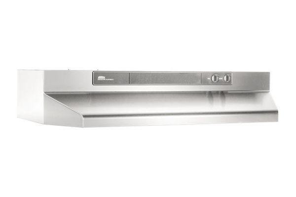 "Large image of Broan 42"" Stainless Steel Under Cabinet Range Wall Hood - 464204"