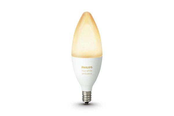 Philips Hue E12 White Ambiance Light Bulb - 468926