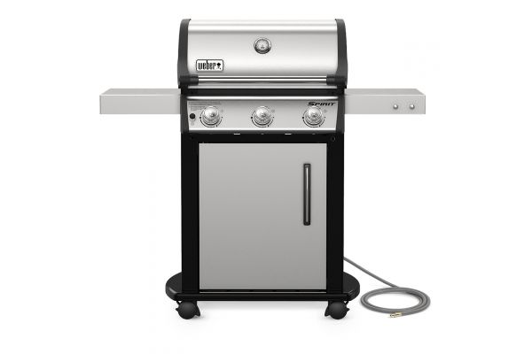 Large image of Weber Spirit S-315 Stainless Steel Outdoor Natural Gas Grill - 47502001