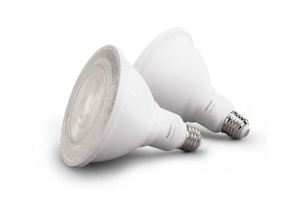 Large image of Philips Hue  PAR38 Outdoor Light Bulb 2-Pack - 476820