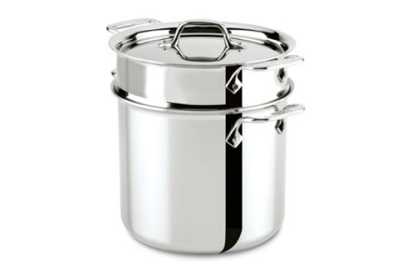 All-Clad 7 Qt. Stainless Steel Pasta Pentola  - 8701004412