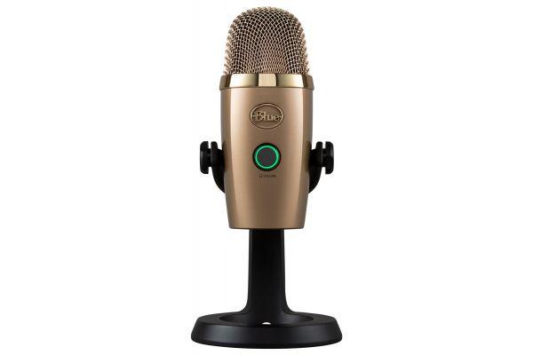 Blue Microphones Cubano Gold Yeti Nano USB Microphone - 489