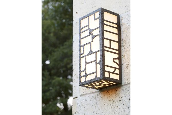 Large image of Arteriors Aged Brass Shani Outdoor Sconce - 49182