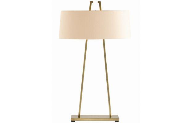 Large image of Arteriors Dalton Antique Brass Table Lamp - 49850-504