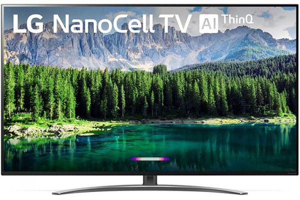 "LG NanoCell Display 8 Series 4K 55"" Smart UHD TV w/ AI ThinQ - 55SM8600PUA"