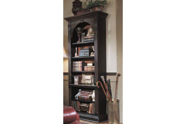 Large image of Hooker Furniture Home Office Black Bookcase - 500-50-385