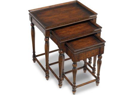 Hooker Furniture Living Room Cherry Veneers Nest of (3) Tables - 500-50-810