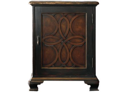 Hooker Furniture Living Room One Door Accent Black Chest - 500-50-819