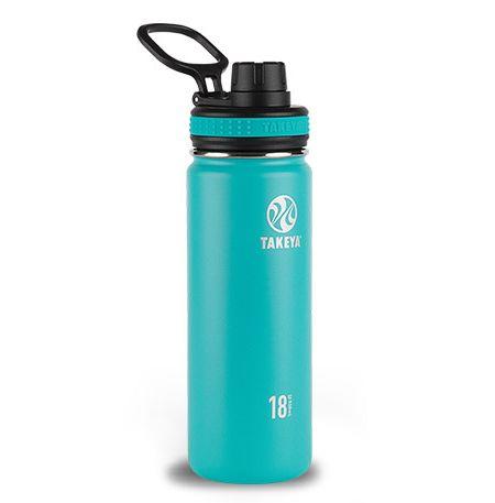Takeya 18 Oz Ocean Thermoflask Stainless Bottle 50005