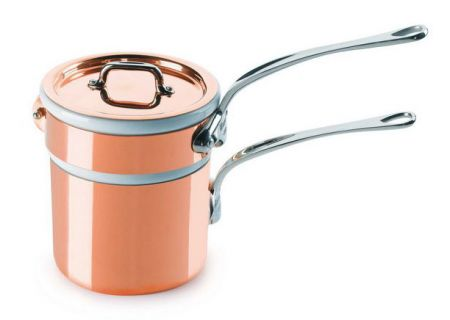 Mauviel M150s 0.9 Qt. Copper And Stainless Steel Bain Marie  - 610412