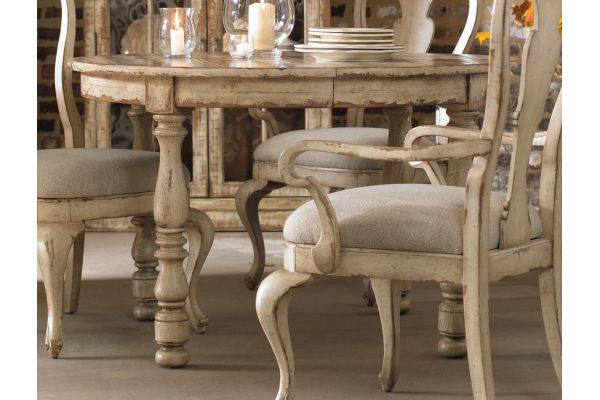Hooker Furniture Dining Room Wakefield Round Leg Dining Table - 5004-75201