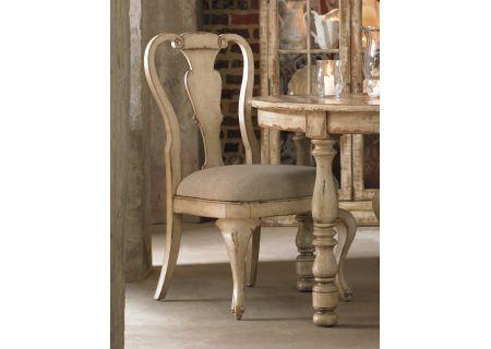 Hooker Furniture Dining Room Wakefield White Splatback Side Chair - 5004-75410
