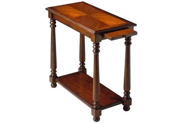 Large image of Butler Specialty Company Devane Plantation Cherry Chairside Table - 5017024