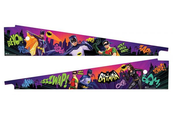 Large image of Stern Pinball Limited Batman Crime Fighter Inside Art Blades - 502-7029-00