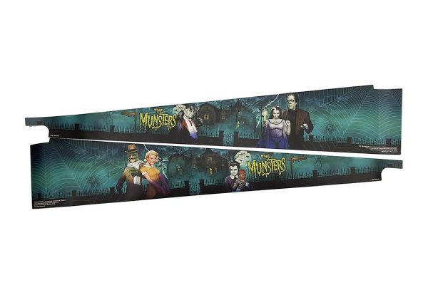 Large image of Stern Pinball The Munsters Color Art Blades - 502-7085-L1