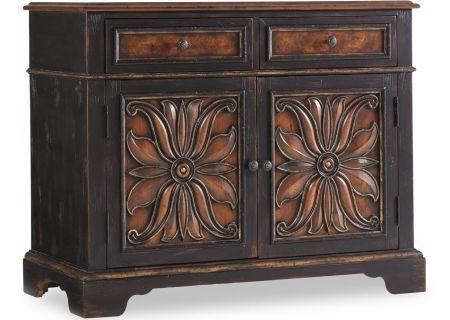 Hooker Furniture Black Living Room Grandover Two Drawer Two Door Chest - 5029-85002