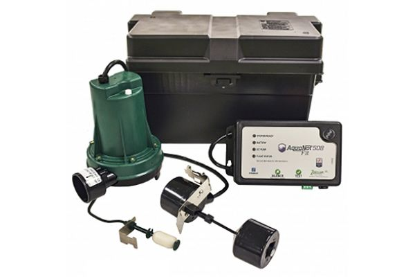 Zoeller Aquanot Fit 508 Professional Series Battery Backup Pump System - 508-0014