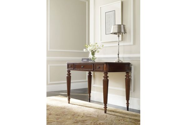"Large image of Hooker Furniture Home Office 42"" Leg Desk - 5085-10442"