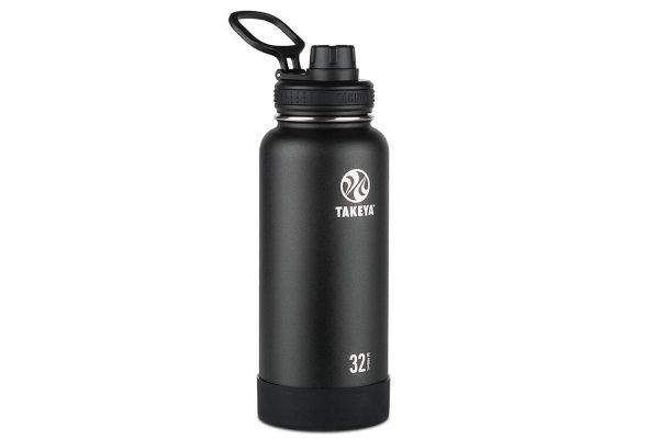 Large image of Takeya 32 Oz Onyx Actives Insulated Water Bottle - 51020