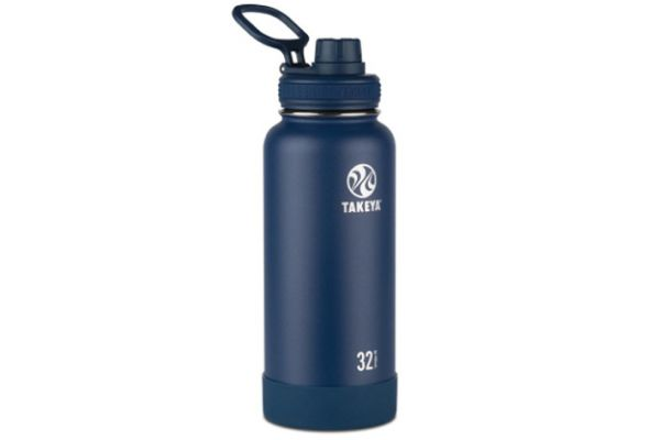 Takeya 32 Oz Midnight Actives Insulated Water Bottle - 51024