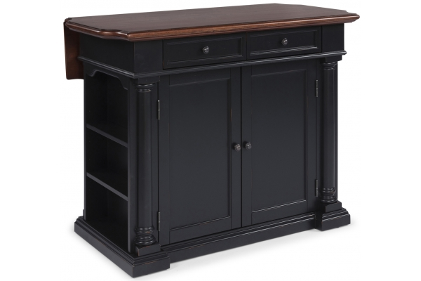 Large image of Homestyles Beacon Hill Aged Cherry Kitchen Island - 5103-94