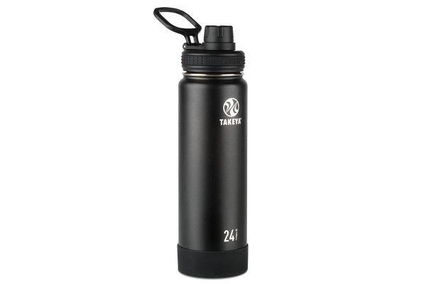 Large image of Takeya 24 Oz Onyx Actives Insulated Water Bottle - 51040