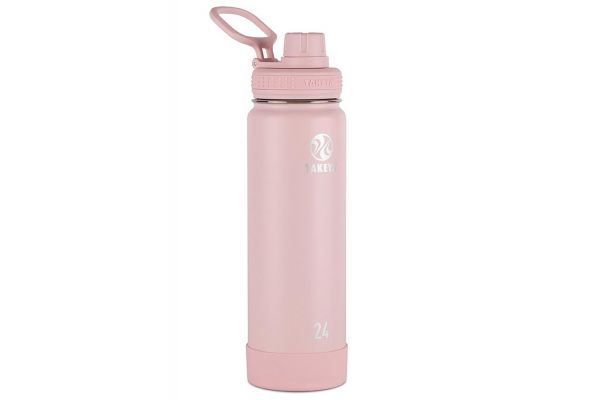 Takeya 24 Oz Blush Actives Insulated Water Bottle - 51054