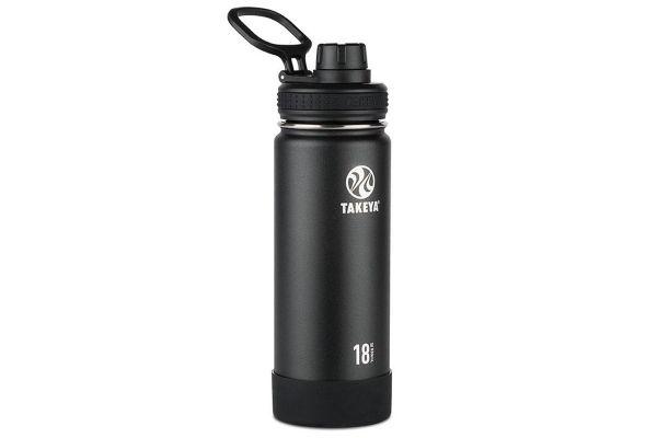 Large image of Takeya 18 Oz Onyx Actives Insulated Water Bottle - 51060
