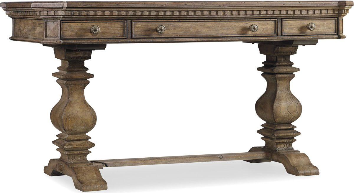 Furniture Light Wood Home Office Sorella 60 Inch Writing Desk 5107 10458