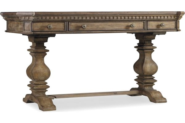 Large image of Hooker Furniture Light Wood Home Office Sorella 60 Inch Writing Desk - 5107-10458