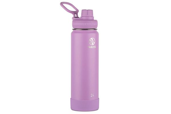 Takeya 24 Oz Lilac Actives Insulated Water Bottle - 51185