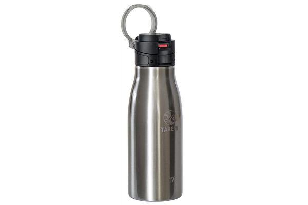 Large image of Takeya 17 Oz Stainless Steel Traveler Insulated Water Bottle - 51274