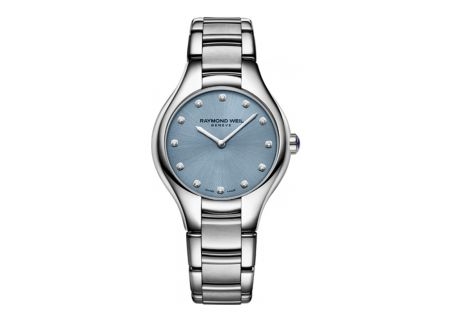 Raymond Weil Noemia 32mm Stainless Steel Womens Watch - 5132ST50081