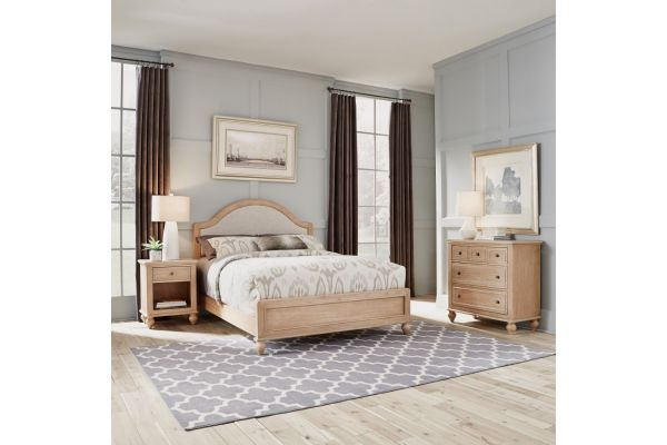 Large image of Homestyles Cambridge Queen Bed, Night Stand And Chest - 5170-5021