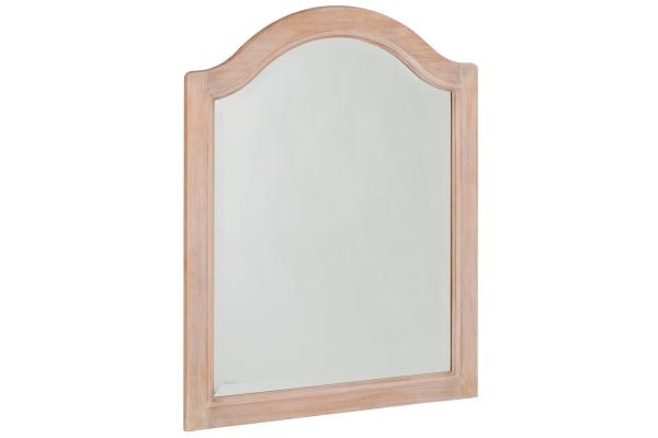 Large image of Homestyles Cambridge Whitewash Mirror - 5170-78