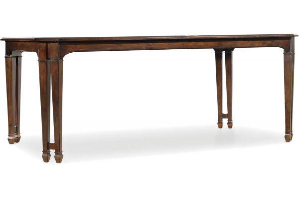 Large image of Hooker Furniture Dining Room Palisade Rectangle Dining Table - 5183-75200
